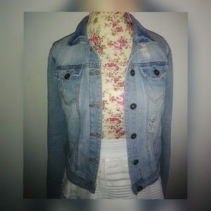 Jackets & Blazers - Destroyed jeans jacket